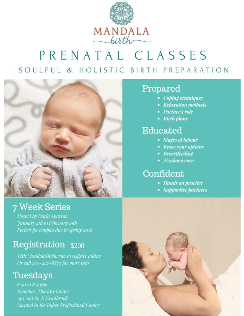 Cranbrook Prenatal Class